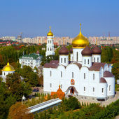 Panoramic view of the Orthodox Cathedral — Stock Photo