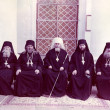 ODESSA, UKRAINE, circa 1950 - Vintage photos of high priests of — Stock Photo #35560703
