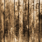 Bright background with wooden texture, sepia — Foto Stock
