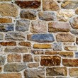 Vintage textured background wall of natural stone — Stock Photo #38808523