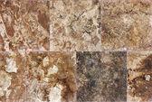 Parete di fondo con texture decorativa di mattonelle di marmo — Foto Stock