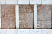 Facade walls are covered with marble tiles — Stock Photo