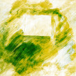 Abstract background with green paint — Stock Photo