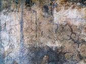 Achtergrond oude gebarsten muren van het gebouw — Stockfoto