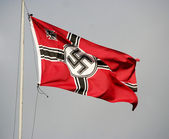 "ODESSA, UKRAINE - MAY 6. German nazi Flag. The ""Odessa historica — Stock Photo"