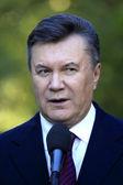 Odessa - 24 octobre : le président de l'ukraine viktor ianoukovitch duri — Photo