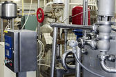 Dairy food-processing industry — Stock Photo