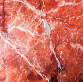 Natural old cracked pink marble rock pattern  — Stock Photo