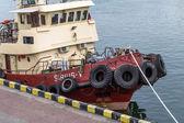 ODESSA, UKRAINE - 28 April: pilot tug moored in the harbor of Od — 图库照片