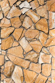 Painting decorative slate stone wall surface of wild stone ply — Stock Photo