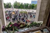 Odessa, Oekraïne - 2 mei 2014: de tragedie van het verbranden van th — Stockfoto