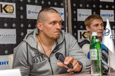 ODESSA, UKRAINE - May 21, 2014: Press conference of world boxing — Stock Photo