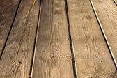 Old dark wood texture natural pattern wooden planks as the magni — Stock Photo