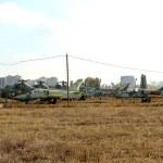 Постер, плакат: ODESSA UKRAINE JUNE 26 2011: Old broken military aircraft