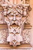 Głowa rzeźby posejdona — Zdjęcie stockowe