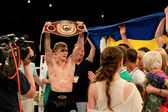Odessa, Ukraine - May 31, 2014: World Champion Alexander SPYRKO  — Stock Photo
