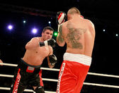 ODESSA, UKRAINE -31 May 2014: World heavyweight boxing champion, — Stock Photo
