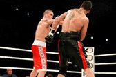 ODESSA, UKRAINE -31 May 2014: World heavyweight boxing champion, — Stock Photo