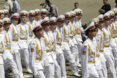 ODESSA MAY 4: Events to commemorate the anniversary of the Victo — Stock Photo