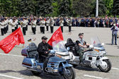 ODESSA MAY 4 : Events to commemorate the anniversary of the Vict — Stock Photo