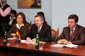 Odessa, Ukraine - November 23, 2010: Ambassador Extraordinary an — Stock Photo