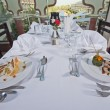Two meals in an a la carte restaurant — ストック写真