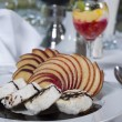Stock Photo: Sponge roll dessert in a la carte restaurant