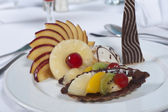 Luxury a la carte fruit salad — Photo