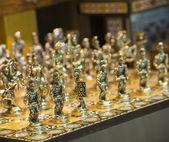 Ozdobny szachy — Zdjęcie stockowe