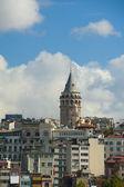 Widok z wieży galata stambuł — Zdjęcie stockowe