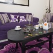 Стоковое фото: Lounge in luxury apartment