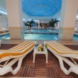 Stock Photo: Indoor pool at luxury hotel