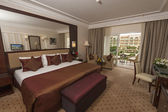 Luxury hotel room — Stockfoto