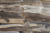 Rustic wood wall background — Stock Photo
