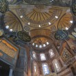 Interior of the Hagia Sophia in Istanbul — Stockfoto