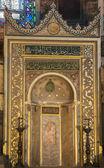 прихожая внутри святой софии в стамбуле — Стоковое фото