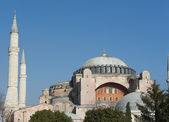View of Hagia Sophia in Istanbul Turkey — Stock Photo