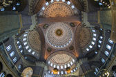 Interior of the New Mosque in Istanbul — Стоковое фото