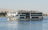 Large river cruise boat on the Nile — Stock Photo
