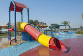 Childrens play area in a pool — Stock Photo
