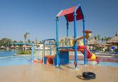 Aire dans un bassin de jeux pour enfants — Photo