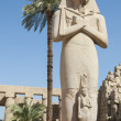 Statue in Karnak temple Luxor — Stock Photo
