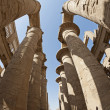 Columns at Karnak temple in Luxor — Foto Stock