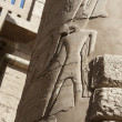 Column at Karnak temple in Luxor — Foto Stock