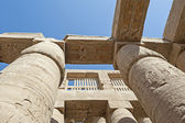 Columns at Karnak temple in Luxor — Stock Photo