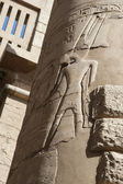 Column at Karnak temple in Luxor — Stock Photo