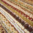 Selection of petit fours — Stock Photo