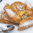 Danish pastry on a plate - Photo