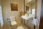 Bathroom in a luxury apartment — Stock fotografie