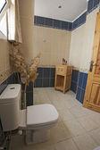 Bathroom in a luxury apartment — Stock Photo
